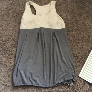 Lululemon built in bra workout top
